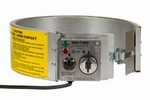 EXPO Electric Drum Heater - Infinite (Variable) Control- For 16 Gallon Steel Drums