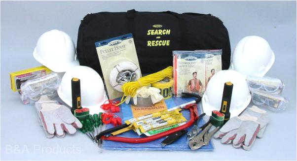 4 Person Mayday Deluxe Search & Rescue Kit