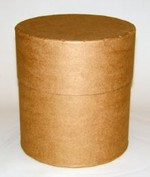 10 Gallon All-Fiber Drum - Round
