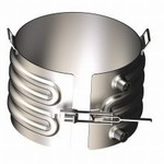 Platecoil Heater or Cooler - Painted Carbon Steel - 55 Gallon