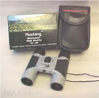 Binoculars, compact 10 x 25