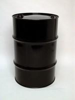 30 Gallon Tight-Head UN-Rated Steel Drum - Black - Epoxy Phenolic Interior