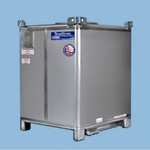 550 Gallon Stainless Steel IBC - TranStore Advanced Technology
