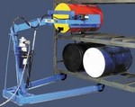 MORSE Omni-Lift Drum Racker - Electric Lift/Electric Tilt