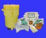 95 Gallon OilSorb Spill Response Kit with Wheels