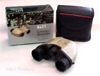 Binoculars, compact 8 x 21