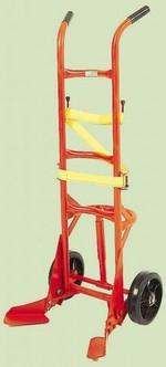 Poly Drum Truck - Polyolefin Wheels