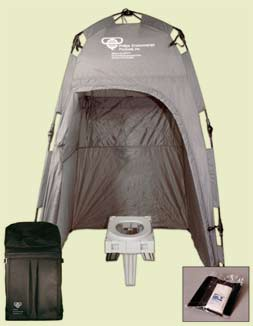 The PETT® Portable Environmental Toilet - Complete System