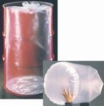 15 Gallon Round Bottom Flexible Liner - Tie-Top - 4 mil