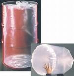 15 Gallon Round Bottom Flexible Liner - Tie-Top - 4 mil