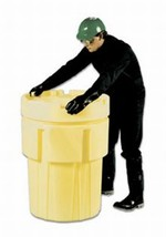 65 Gallon Plastic Salvage Drum