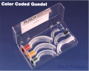 Color Coded Guedel Airway Kit