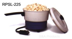 12-volt portable saucepan and popcorn popper