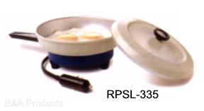 12-volt portable frying pan