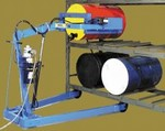 MORSE Omni-Lift Drum Racker - Electric Lift/Manual Tilt