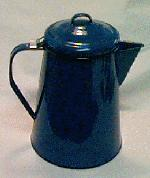 Cinsa Enamel coffee pot