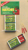 Wind and Waterproof Matches