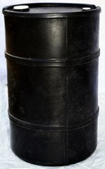 30 Gallon Closed-Head Plastic Drum