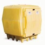 Hazard Hut For Outdoor Storage of Hazardous Materials