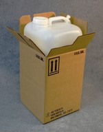 5 Gallon Hedpak Bottle With Carton Assembled