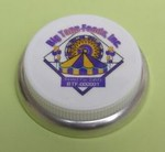 3/4 Inch Hex-Head Plastic Capseal - Custom Decorated