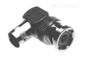 BNC Right Angle (M-F) UG-306