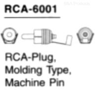 RCA Male Connector