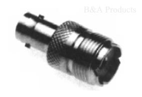 BNC Female to UHF Female Adapter