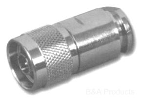 N Male Clamp Type Connector