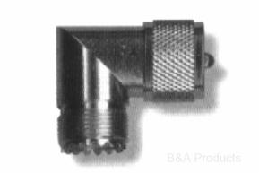 PL-259 Right Angle L Connector